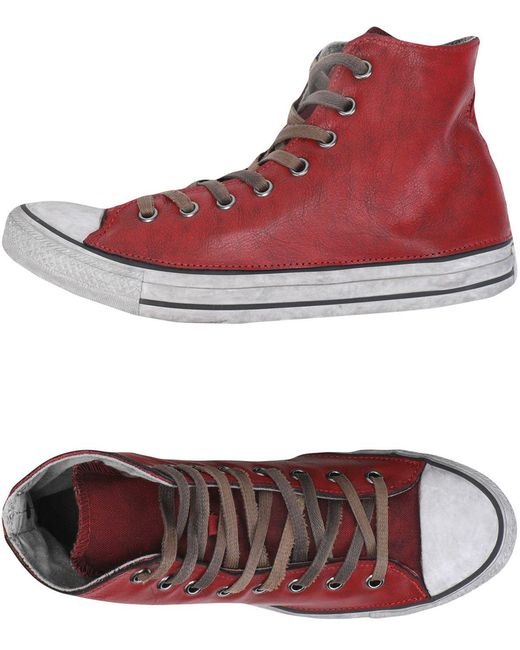 Converse Men's Red High-tops & Sneakers
