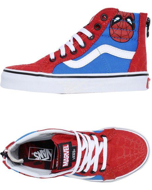 Vans Men's White High-tops & Sneakers