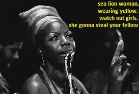 day 6-Love Nina Simone's Sea Loin Woman