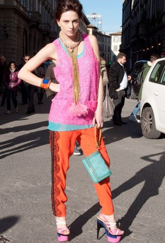 I am Small Fry for LUISA VIA ROMA Firenze4Ever 4th Edition - Look 1