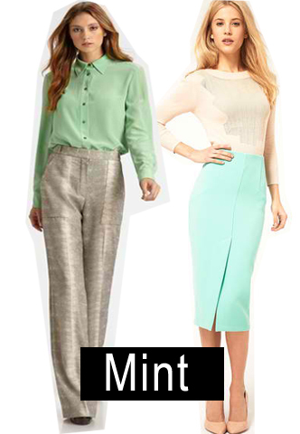 Spring 2012 Color Trend: Mint