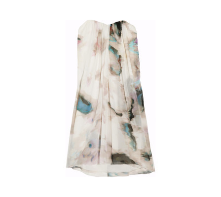 Alice + Olivia - Printed Silk-chiffon Dress. Found on...