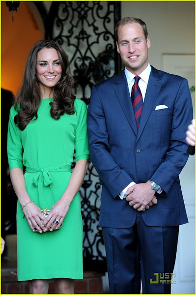 Duke and Duchess of Cambridge attended a private reception at the British Consul-General's residence