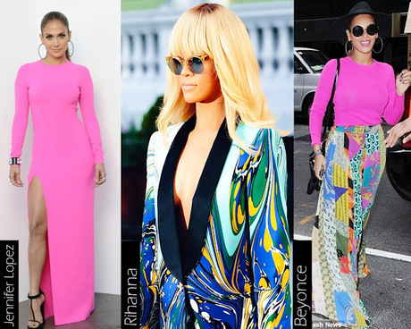 Jennifer Lopez, Rihanna & Beyonce Welcomes Spring With Bold Color