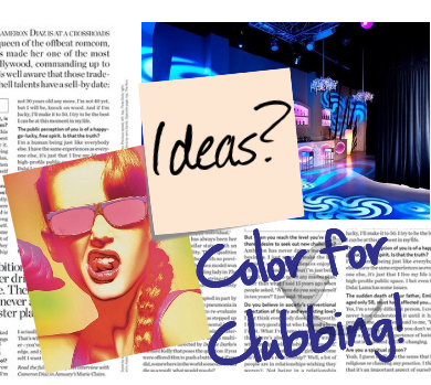 Color for Clubbing