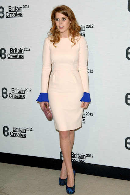 Princess Beatrice attended the Britain Creates 2012