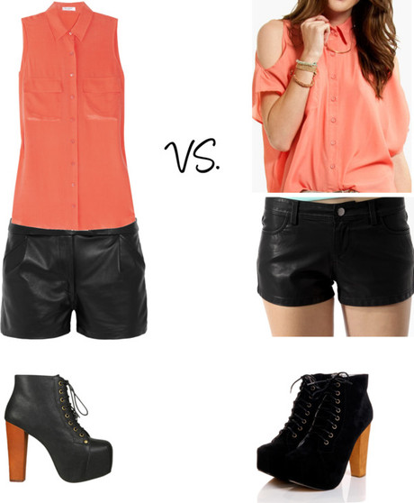 Transitional Piece: Leather (High vs. Low)
