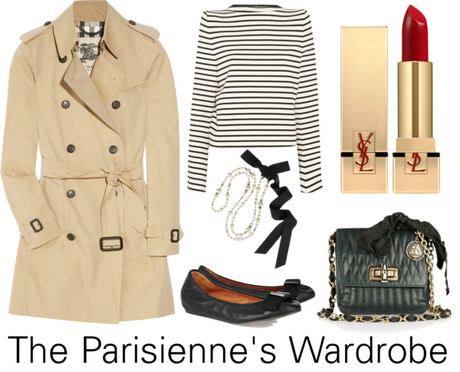 {lookbook} The Parisienne's Wardrobe