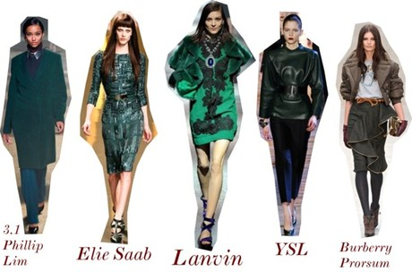 Fall 2012 Trend Alert: Jewel Tone Hues – Dark Green