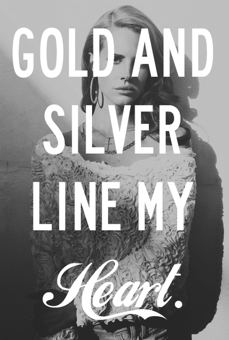 Gold and Silver Line My Heart