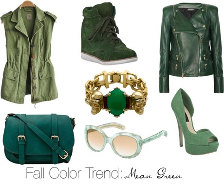 Fall Color Trend: Mean Green