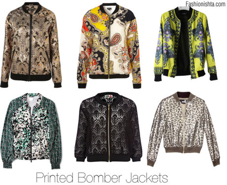 Some Trendy Ish: Printed Bomber Jackets