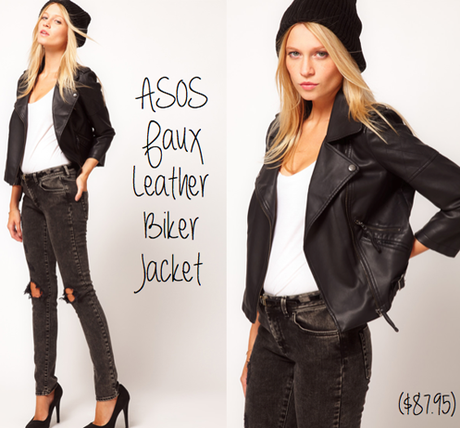 Weekly Weakness – ASOS Faux Leather Biker Jacket