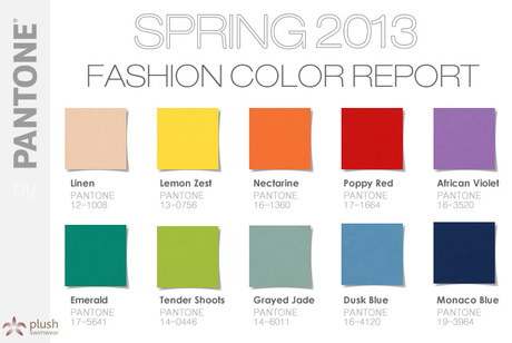 FASHION COLORS 2013