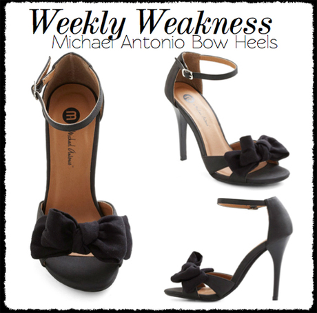Weekly Weakness – Michael Antonio Bow Heels