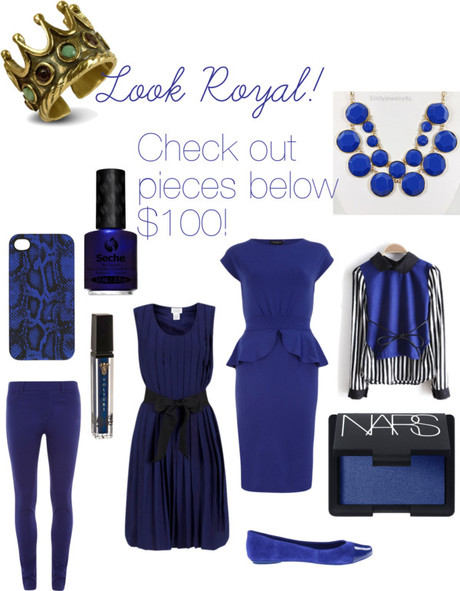 Royal Honey: Get inspired by Spring 2013's freshest color: Royal Blue!!
