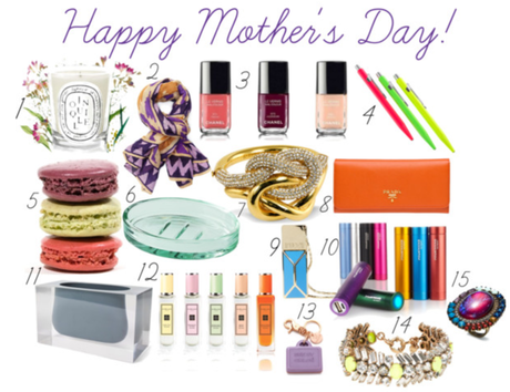 A Gift Guide: Mother's Day