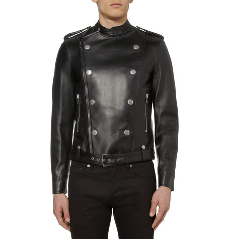 We Love – Saint Laurent Leather Biker Jacket