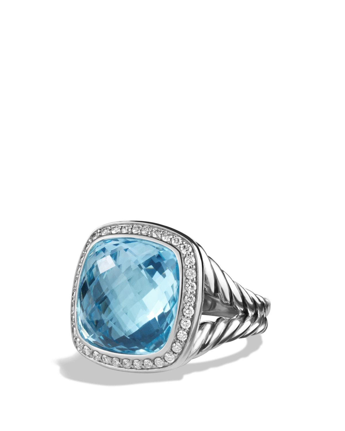 Lyst David Yurman Albion Ring With Blue Topaz And