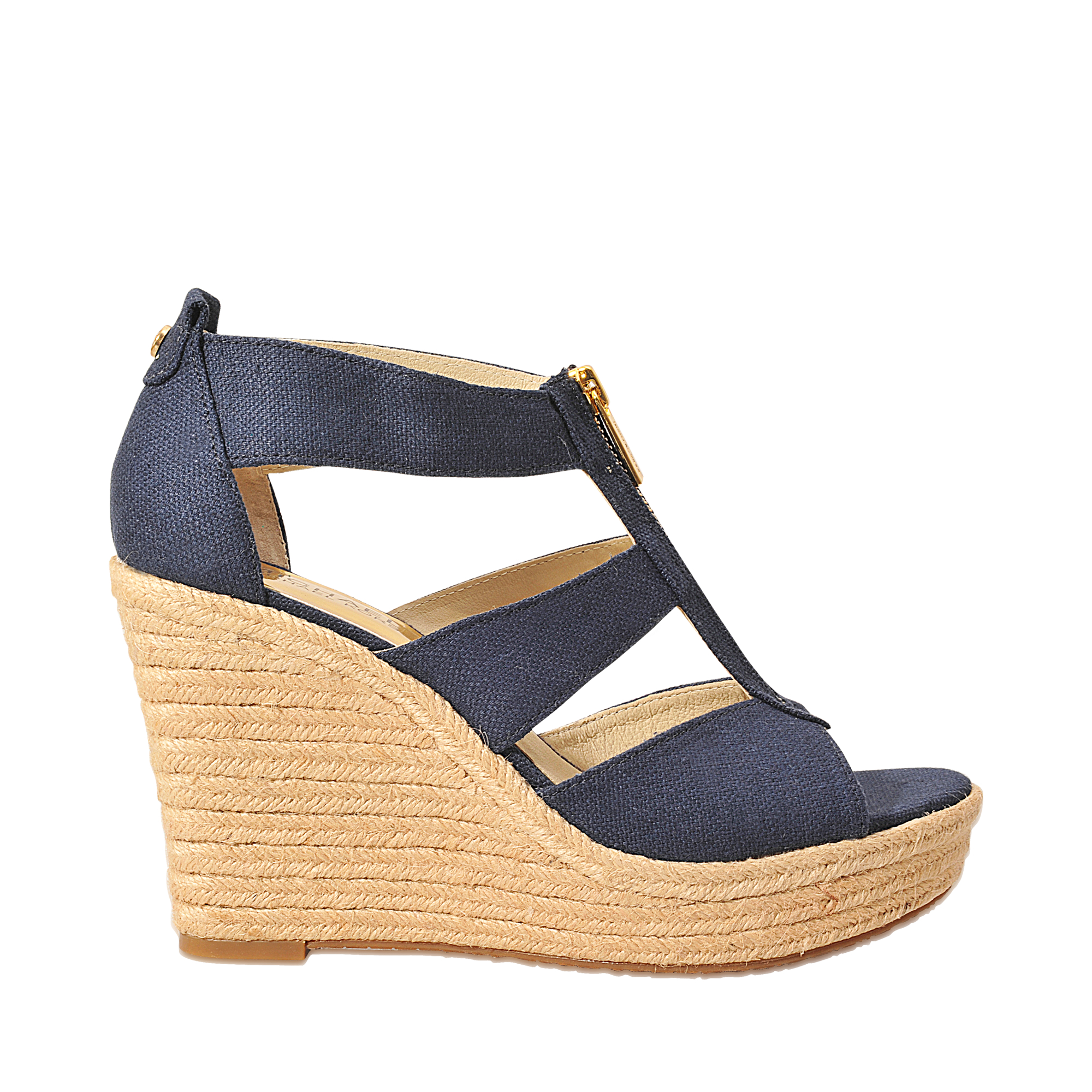 80b4e77a5d57 Lyst - MICHAEL Michael Kors Damita Wedge in Blue