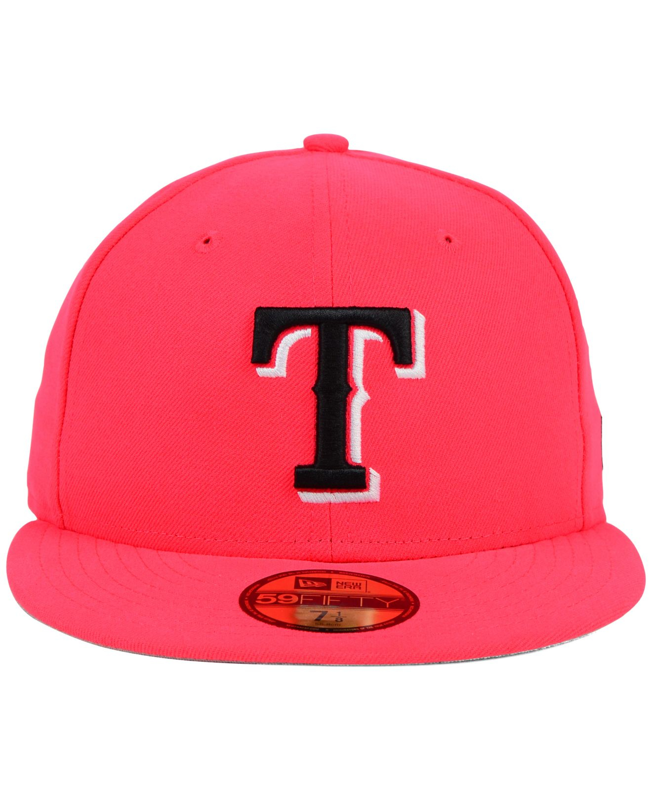 finest selection cdab3 1b5b7 KTZ Texas Rangers C-dub 59fifty Cap in Red for Men - Lyst