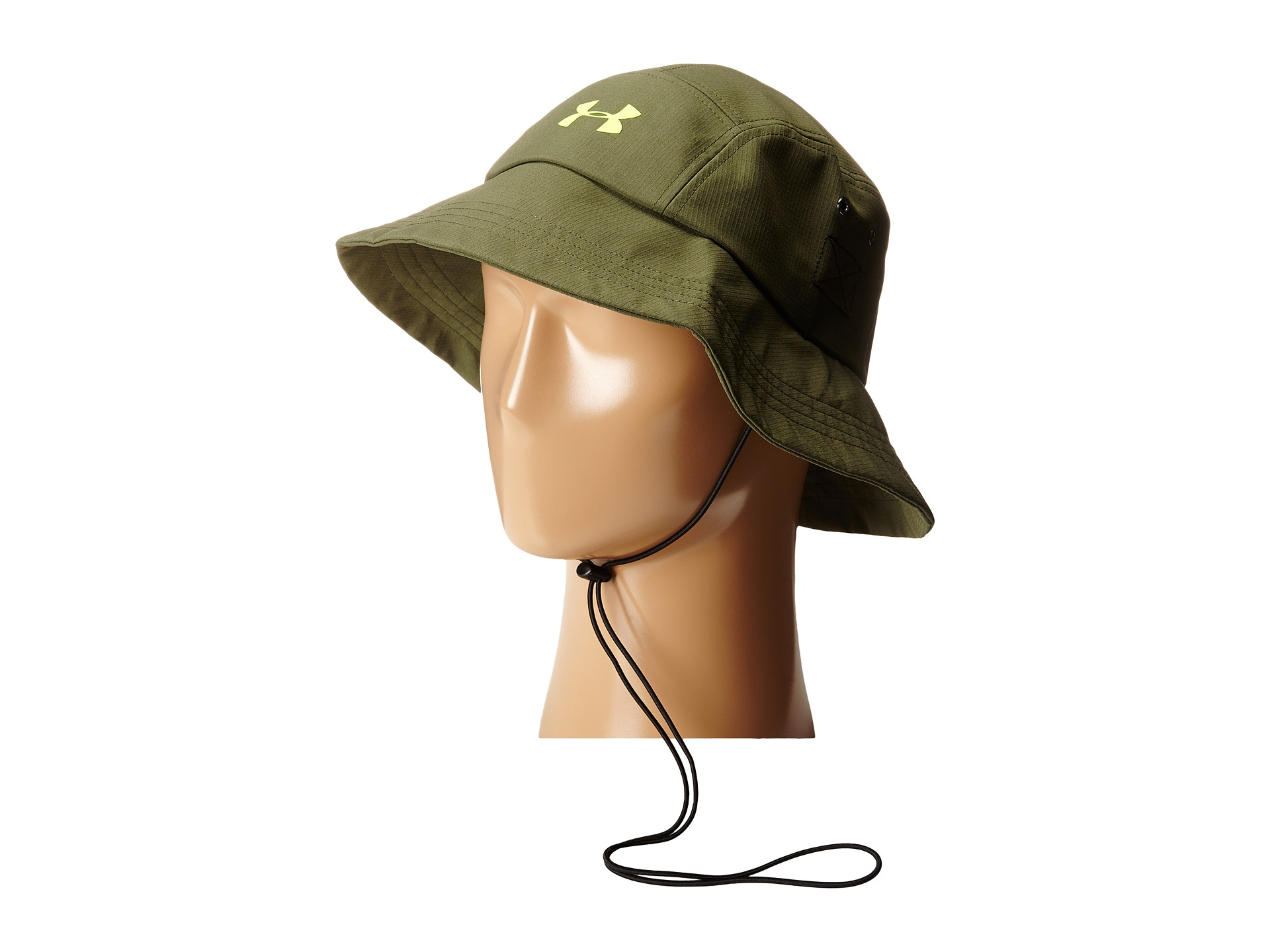 48f59106125 ... inexpensive lyst under armour ua toughest bucket hat in green for men  966df 596c2 ...