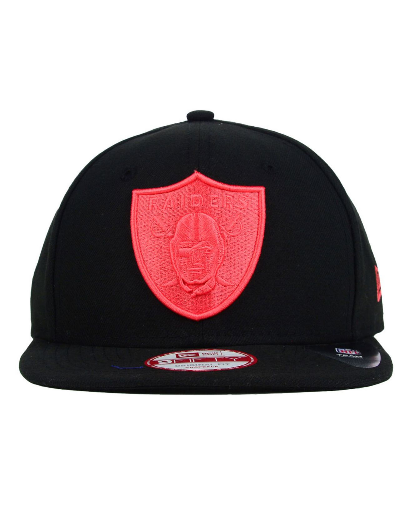 9d540534 spain all red oakland raiders hat 293e4 f2c85