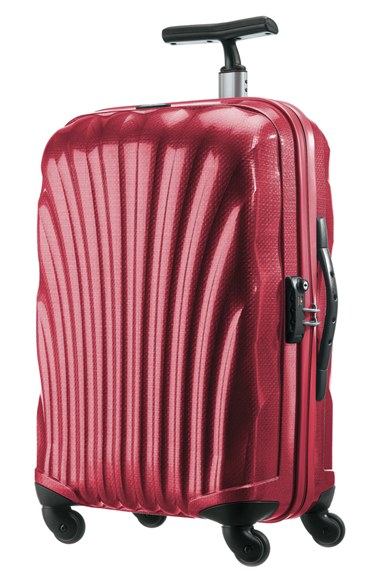 Samsonite 'cosmolite' Rolling Hard Shell Suitcase in Red for Men ...