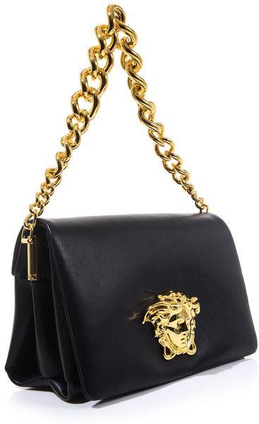 Versace Leather Shoulder Bag 17