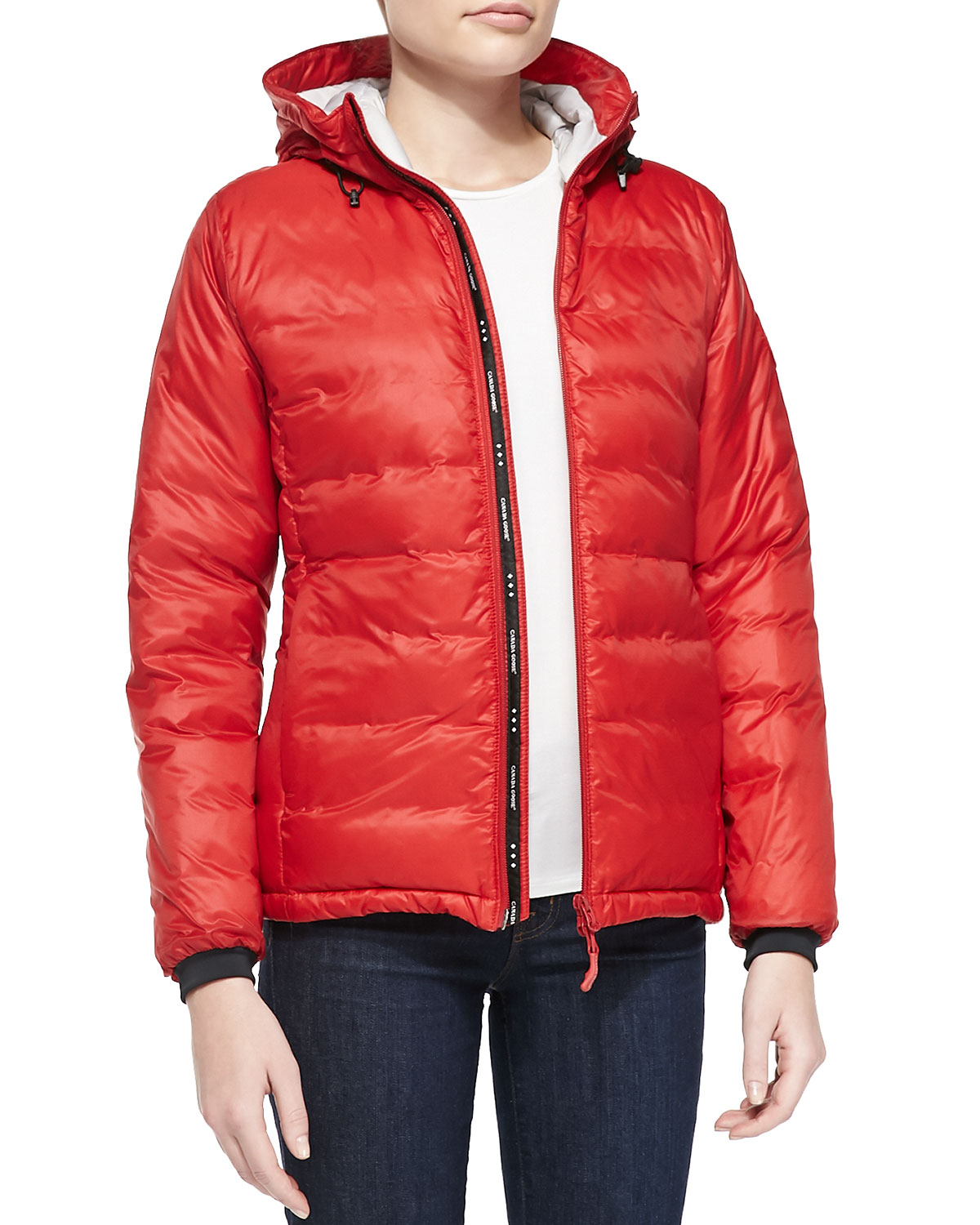 Canada Goose Camp Hooded Mid Length Puffer Coat - fortyninegroup dc3193302