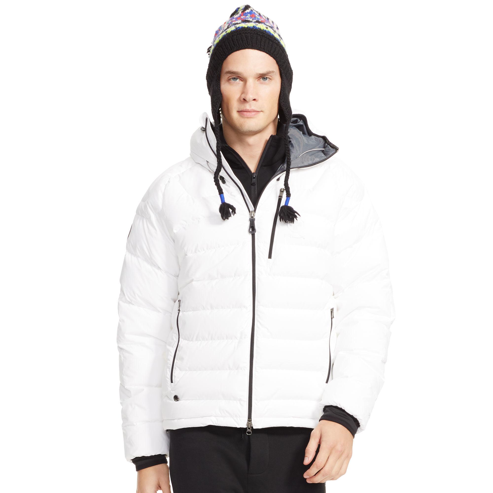 ffeafbfd Polo Ralph Lauren Water-repellent Down Jacket in White for Men - Lyst