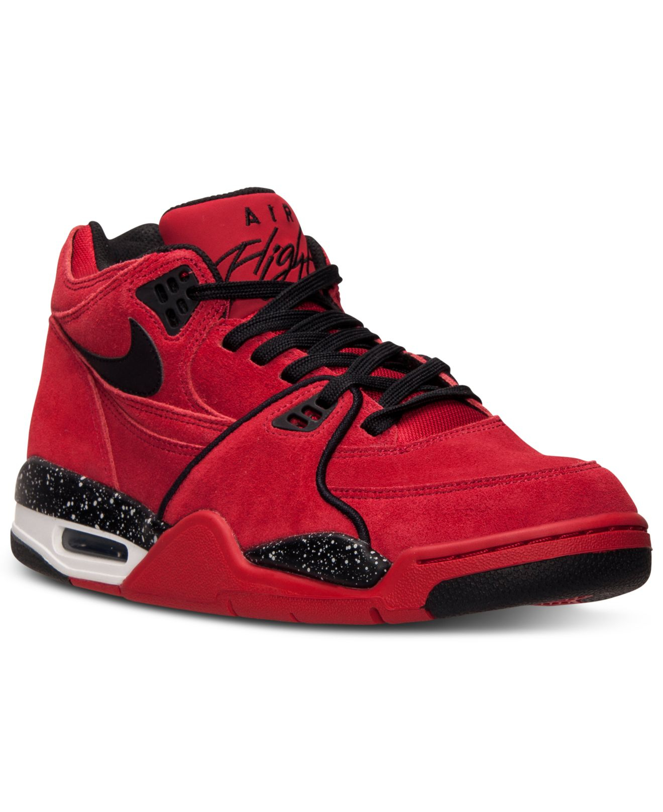 size 40 a3987 05bdc Nike Mens Air Flight 89 Basketball Sneakers From Finish Line in Red ...