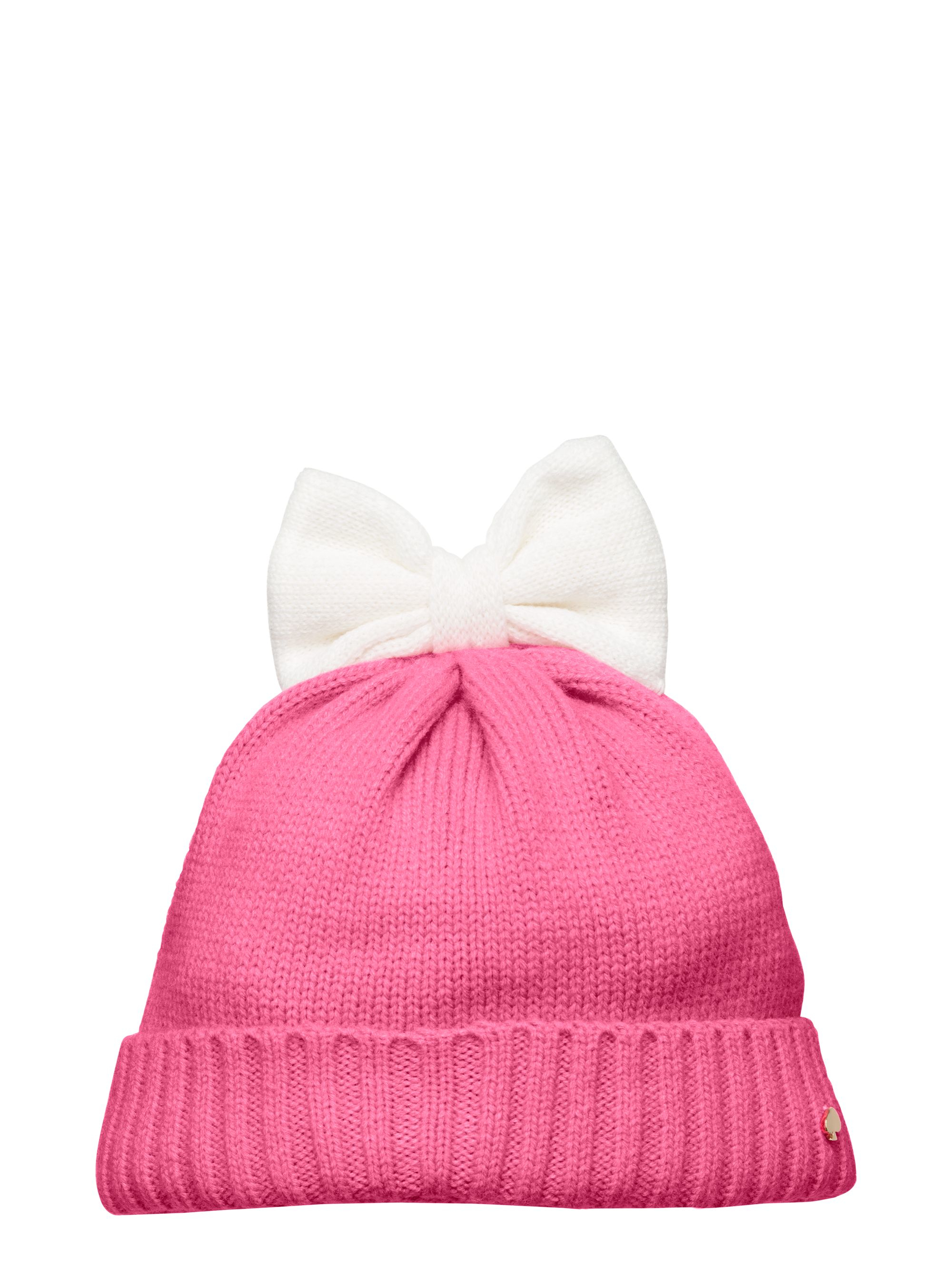 8a1674dc201b0 Kate Spade Colorblock Bow Hat in Pink - Lyst