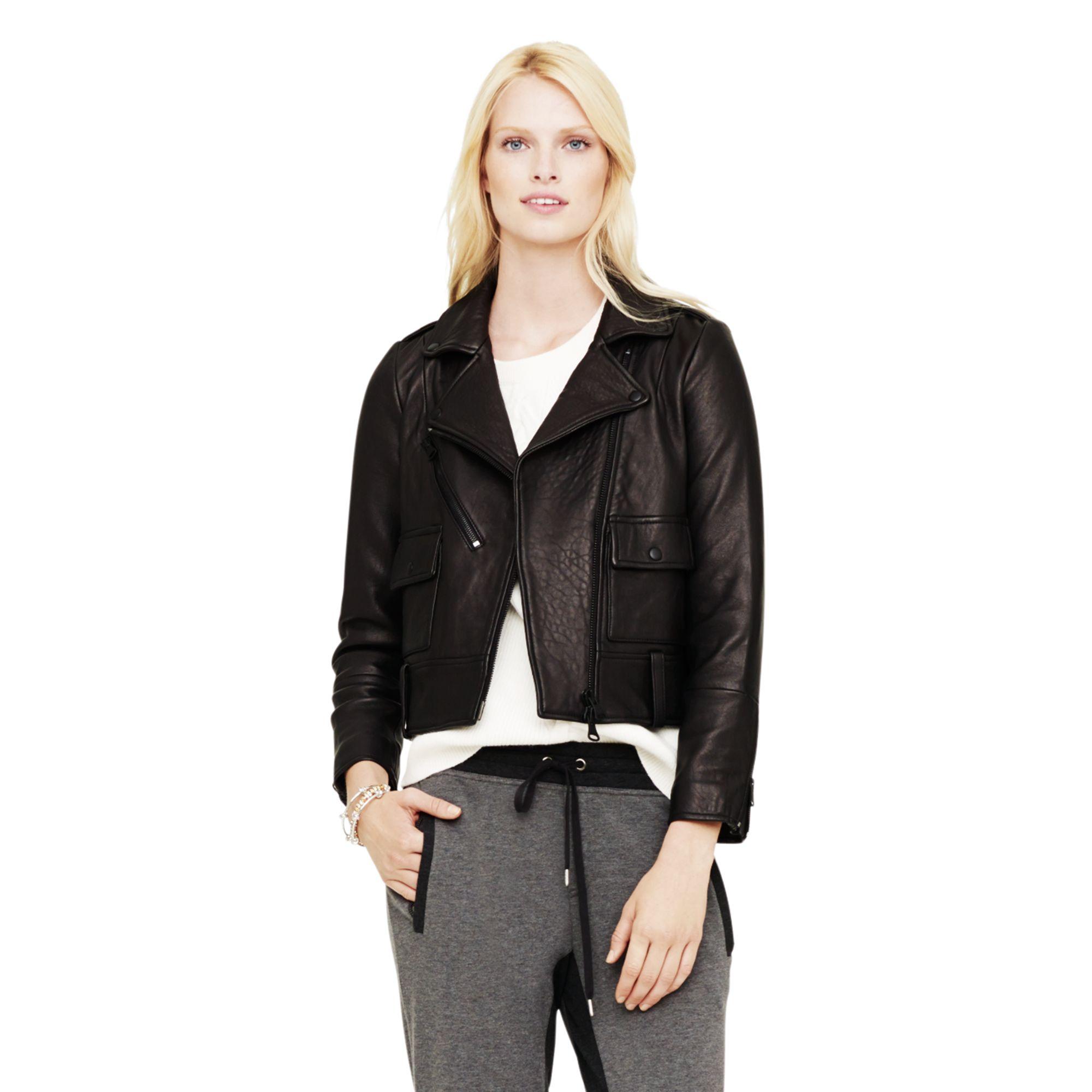 Lyst club monaco delaine moto jacket in black jpg 2000x2000 Club monaco  moto jacket 8a1b7c644