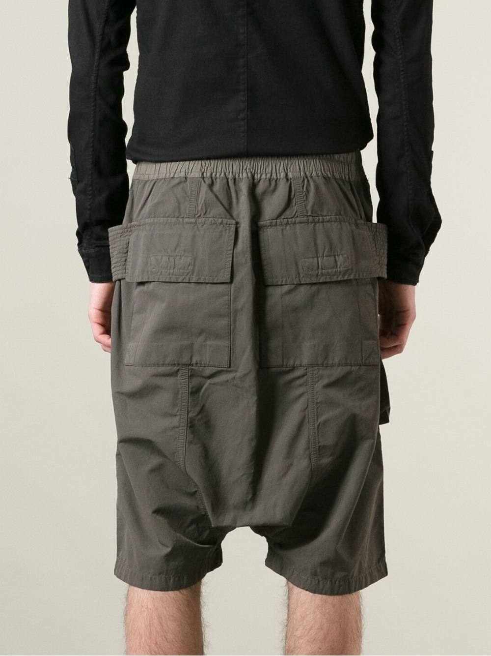 Pod cargo shorts - Grey Rick Owens JRxRj9wz5