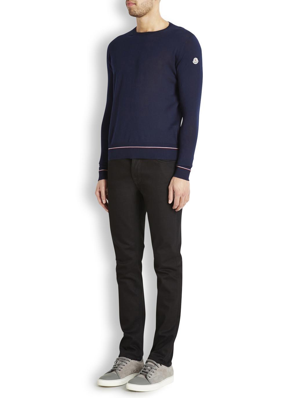 moncler navy jumper