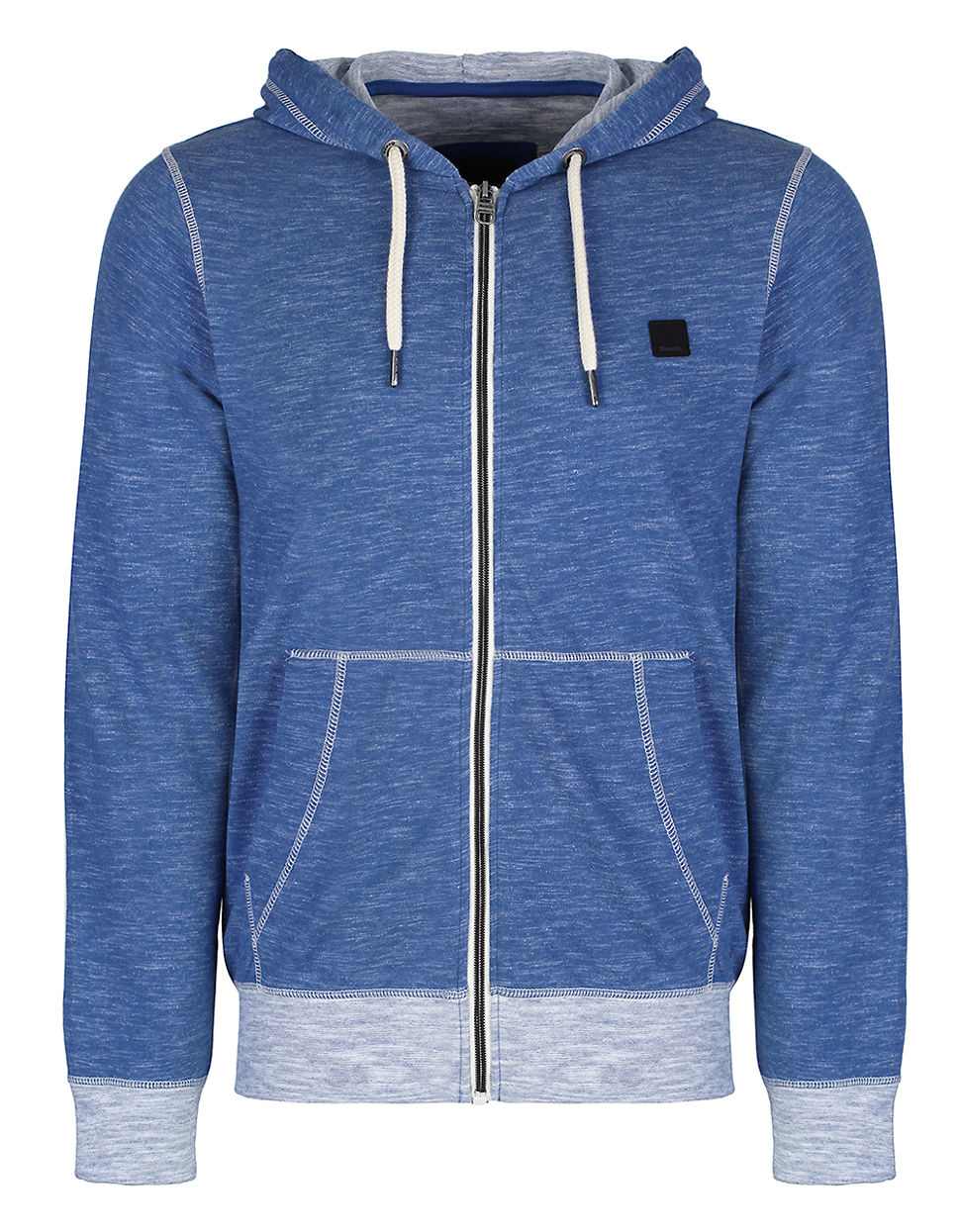 Bench Dexville Heathered Hoodie In Blue For Men True Blue Lyst