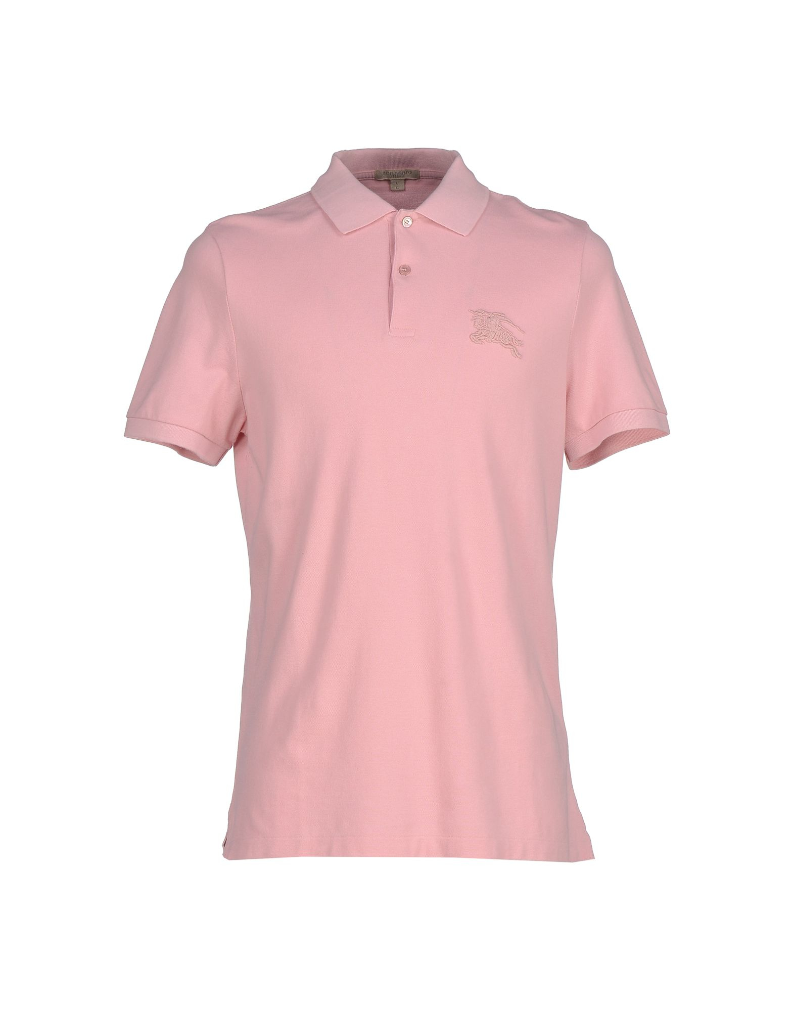 Burberry Brit Polo Shirt In Pink For Men Lyst