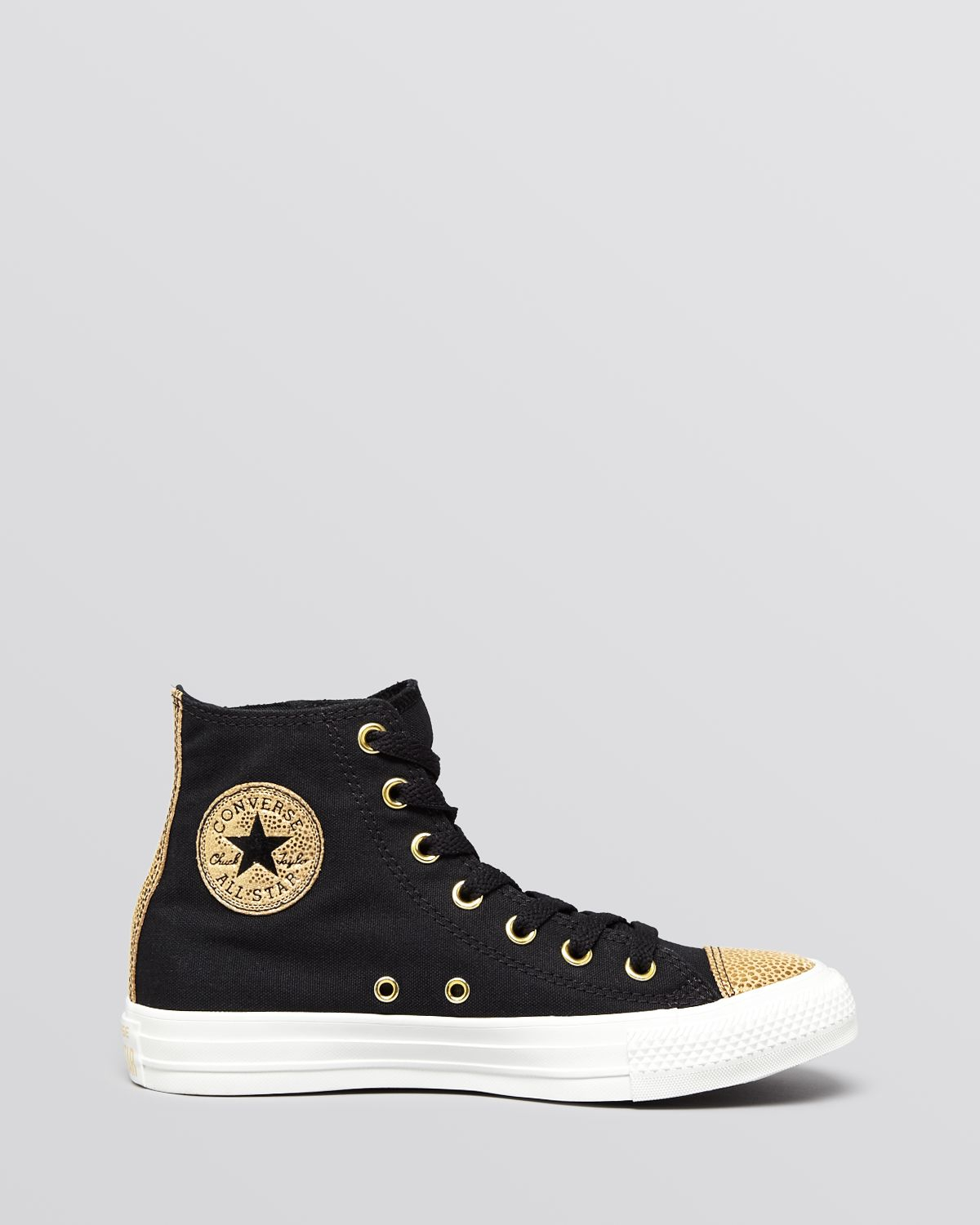 b0ed78cf02a8f Lyst - Converse Lace Up High Top Sneakers Chuck Taylor All Star Side ...