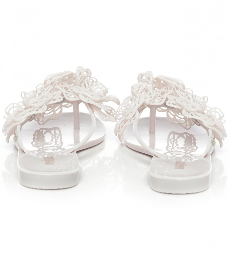 377841a238bc0a Lyst - Melissa Harmonic Garden Flower Sandals in White