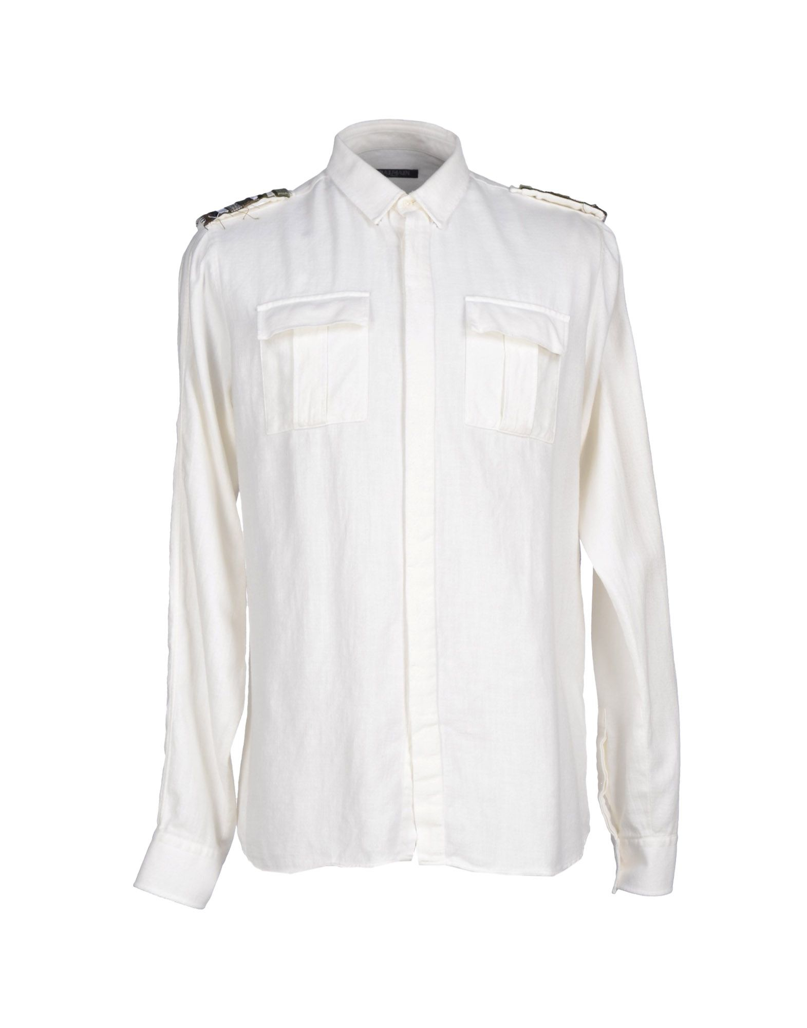 Balmain Shirt in White for Men