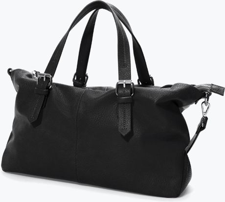 Zara Shopper Bag Black Zara Trf Shopper Bag in