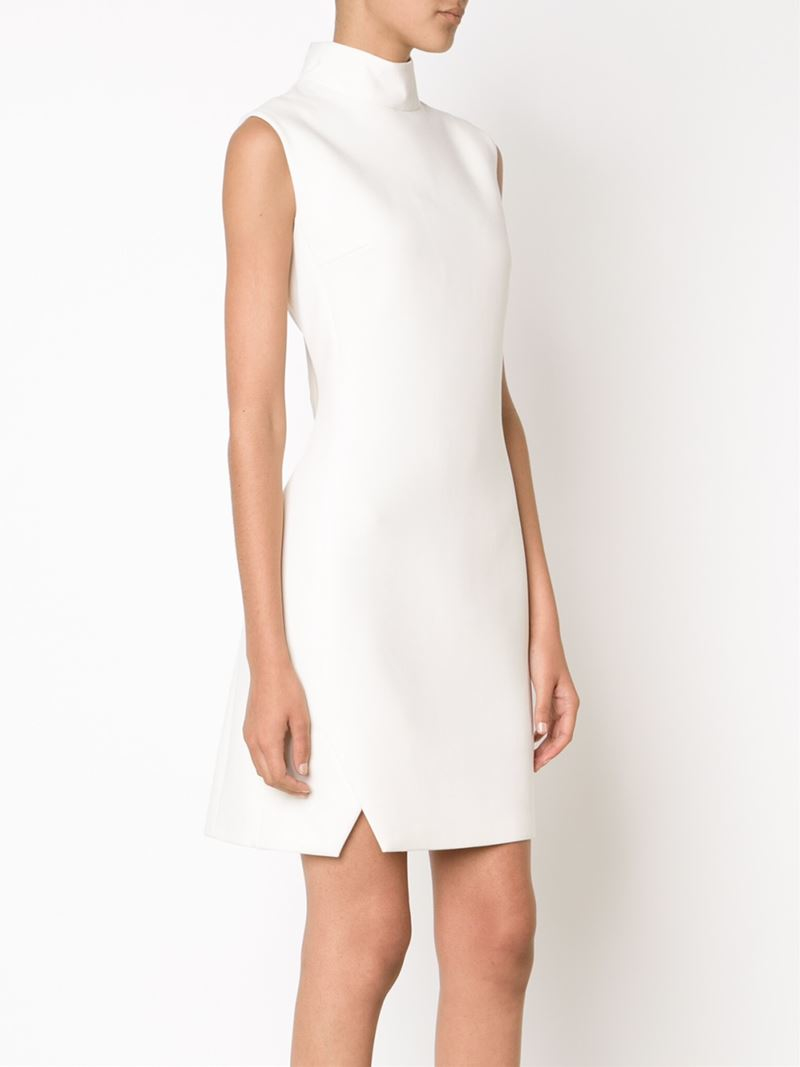 Free Shipping Clearance Store Mugler fitted sleeveless dress Cheap Shop For Discount Cheap Online Geniue Stockist Online 2QGOwxLN