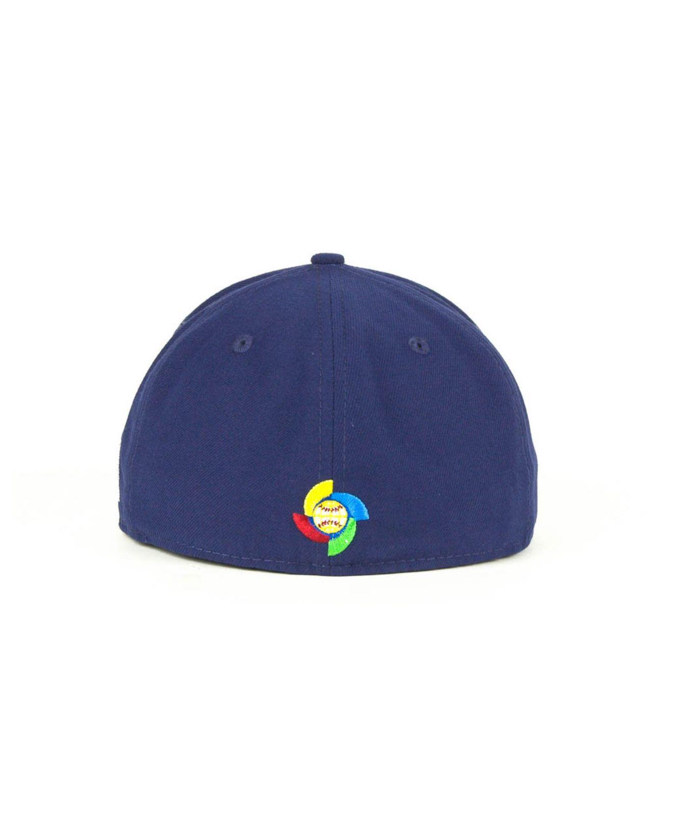 ktz usa 2013 world baseball classic 59fifty cap in blue
