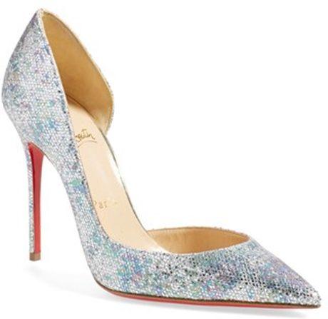 christian louboutin semi d\u0026#39;Orsay pointed-toe pumps | cosmetics ...