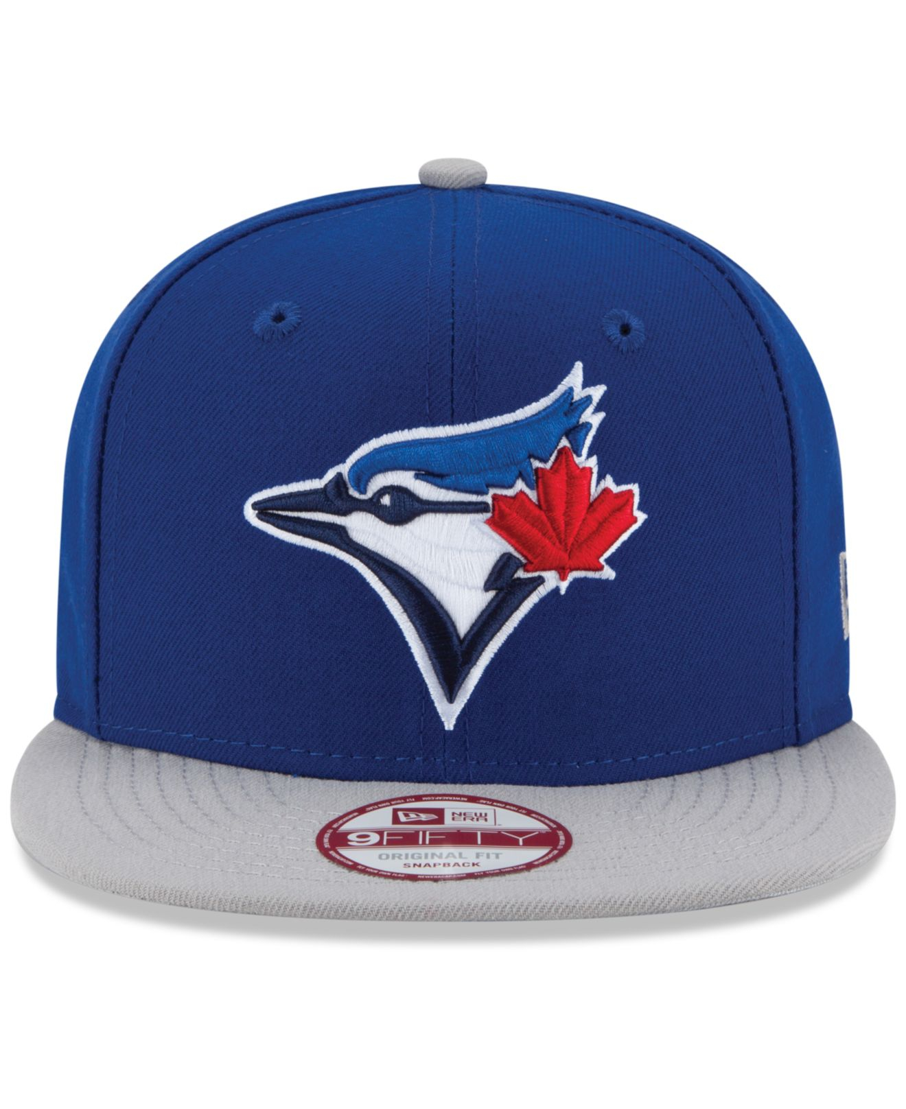 49f8e95dab0 Lyst - Ktz Toronto Blue Jays 9Fifty Snapback Cap in Blue for Men