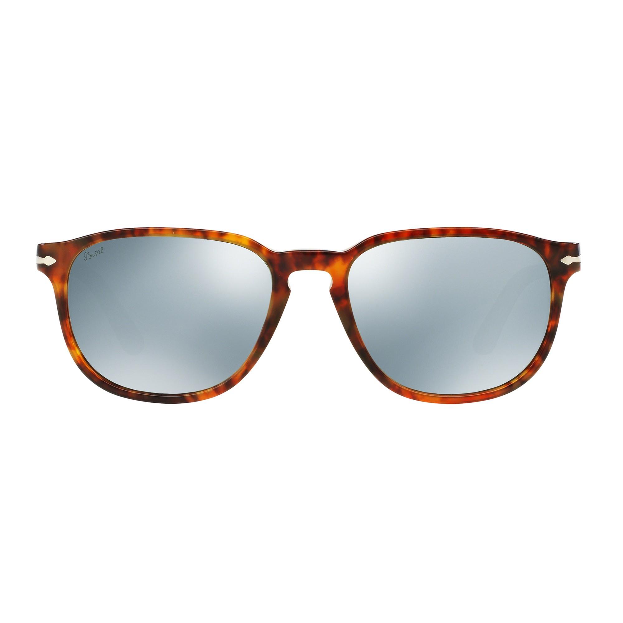 465bcc65675d Persol Po3019s Square Sunglasses in Brown - Lyst