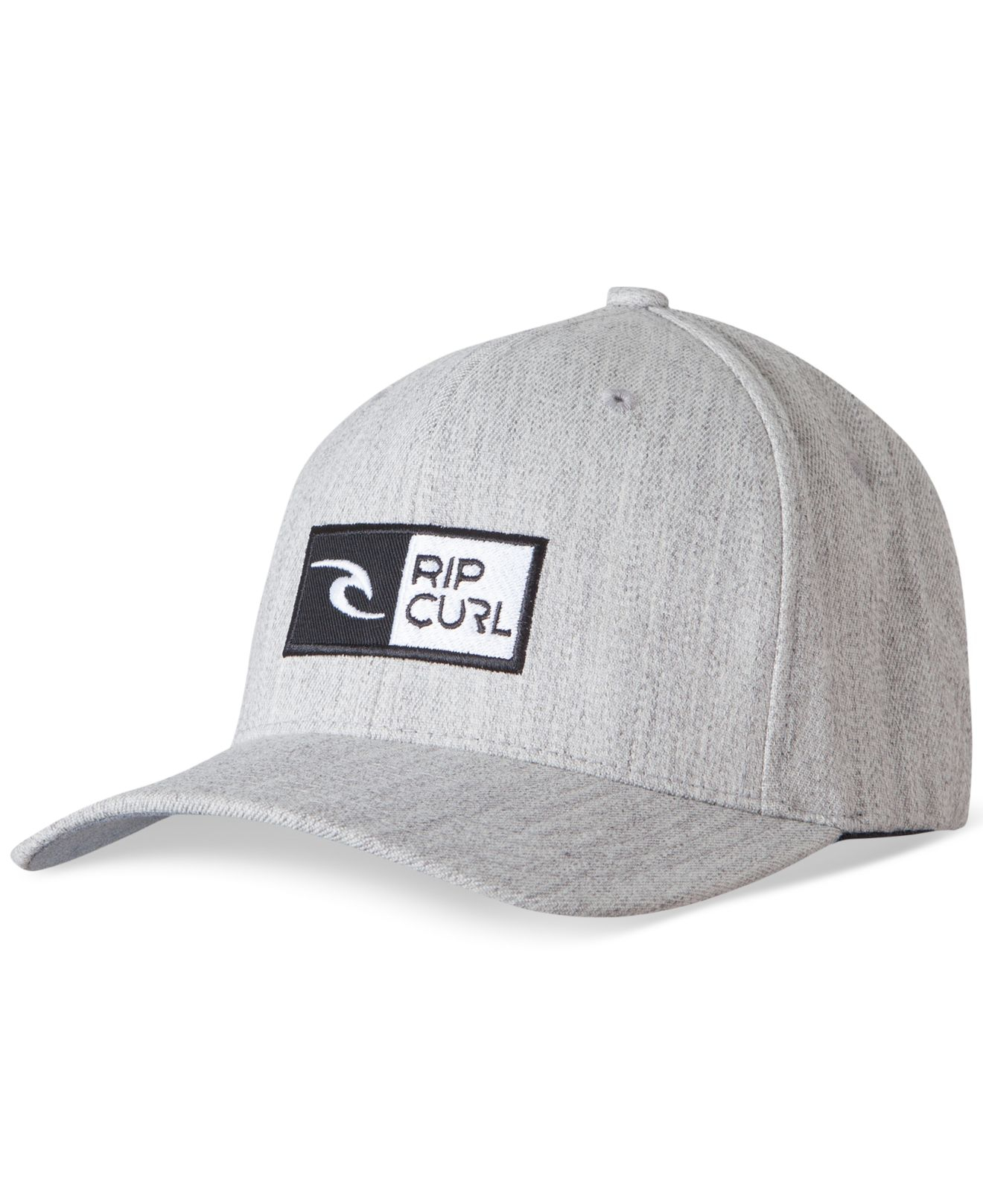 Lyst - Rip Curl Ripawatu Flex-fit Cap in Gray for Men 08a6b805eaa