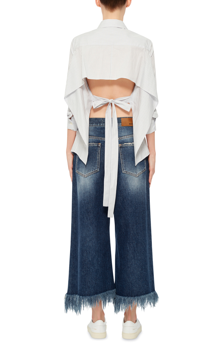 culottes in denim Msgm