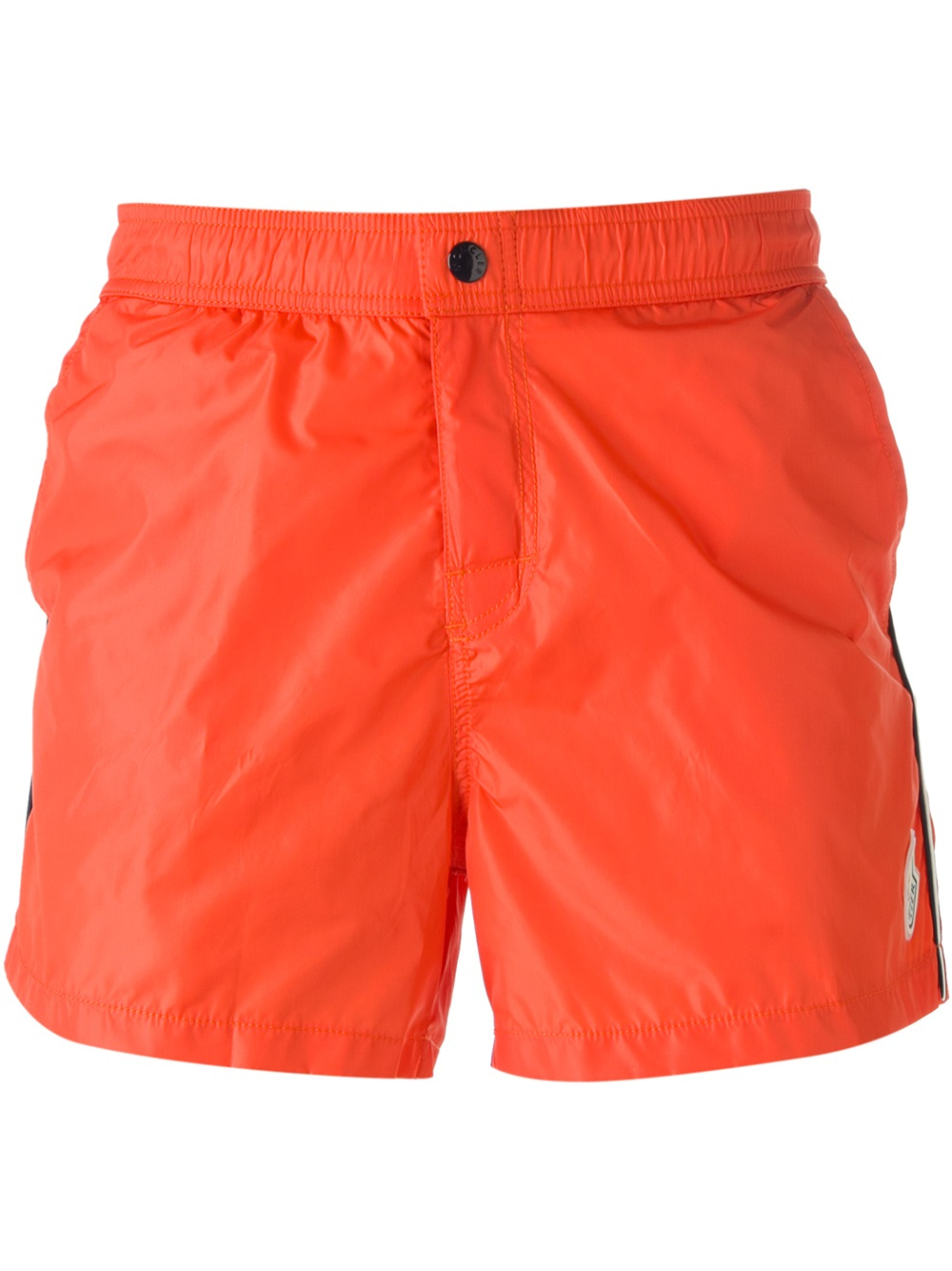 yellow moncler shorts